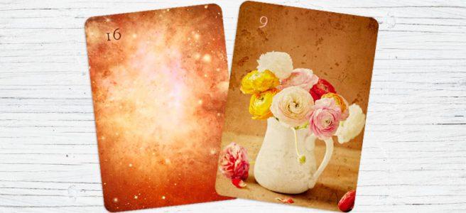 Blumen und Sterne Epic Light Lenormand