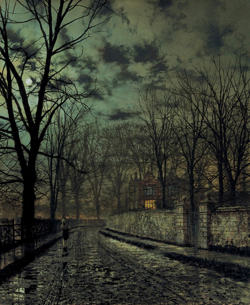 "J.A. Grimshaw, ""November"", 1879"