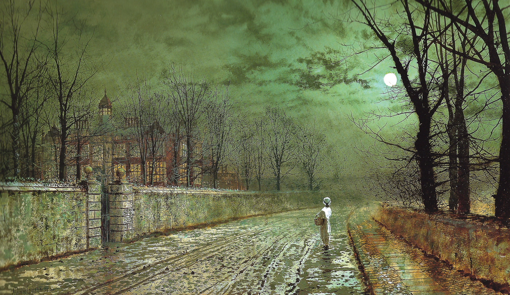 Atkinson_Grimshaw - A Moonlit Evening, 18