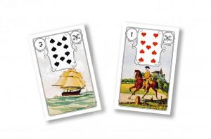 Schiff und Reiter