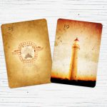 Ring und Turm Lenormand Kombination Trennung