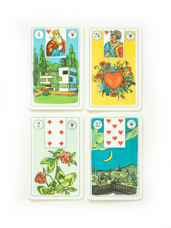 ASS Lenormand Wahrsagekarten Übersicht beliebteste Lenormand Kartendecks