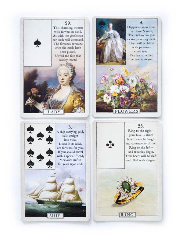 Blue Bird Lenormand beste Kartendecks