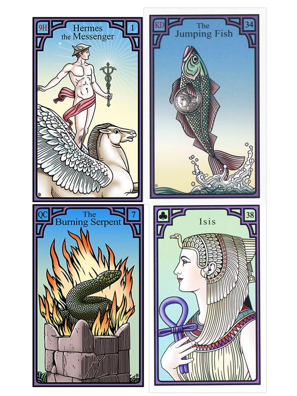 Burning Serpent beliebteste Lenormand Kartendecks