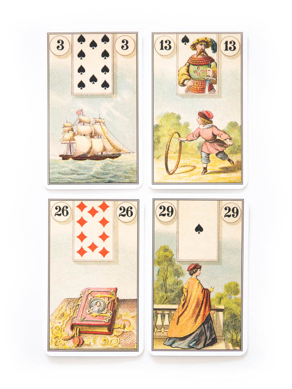 French Cartomancy Lenormand Deck