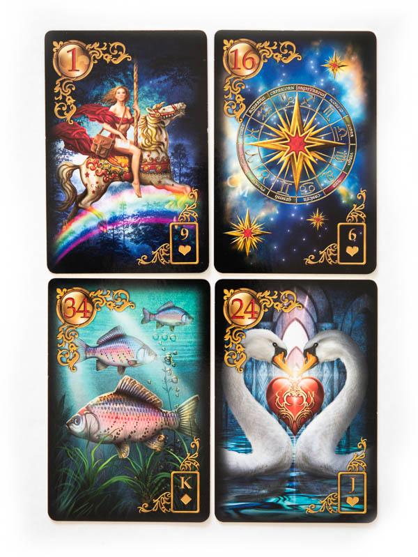 Gilded Reverie Lenormand Übersicht beste Kartendecks