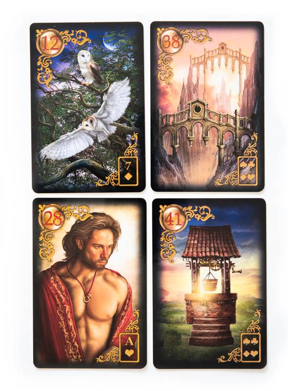 Gilded Reverie Lenormand Zusatzkarten expanded edition Übersicht beste Kartendecks