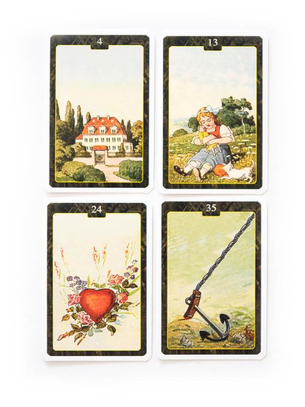 Lenormand 1890 Orakelkarten (Lo Scarabeo)