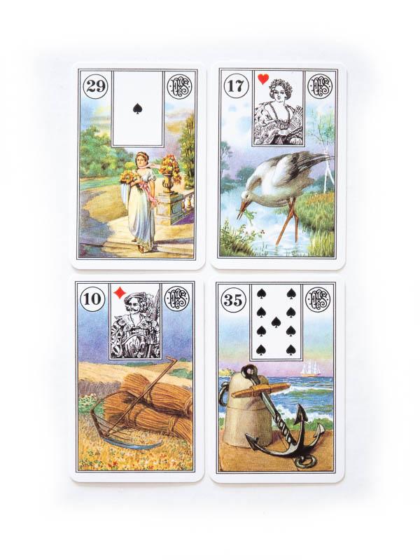 Piatnik Wahrsagekarten Übersicht beste Lenormand Karten Decks