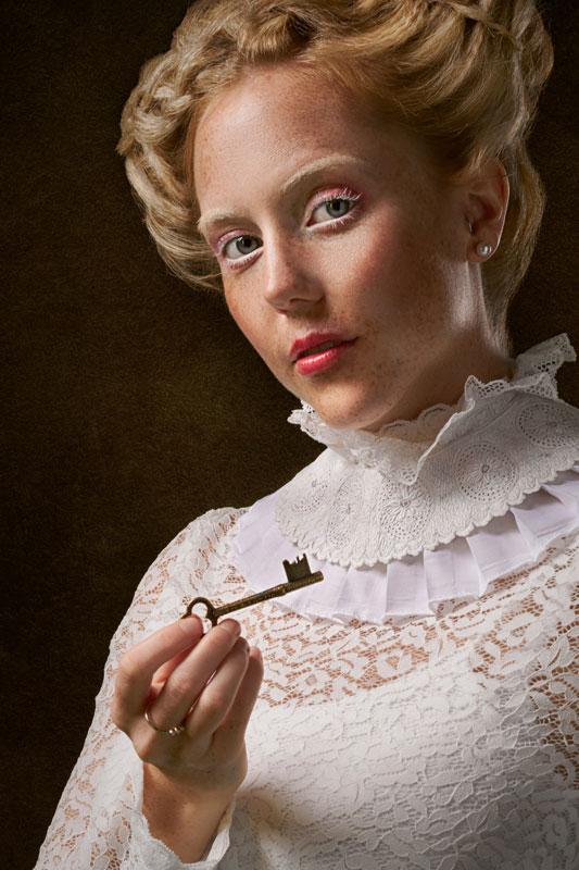 Der Schlüssel zur Deutung der Dame im Lenormand