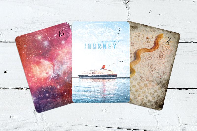 Sterne, Schiff, Schlange Lichtblick Lenormand
