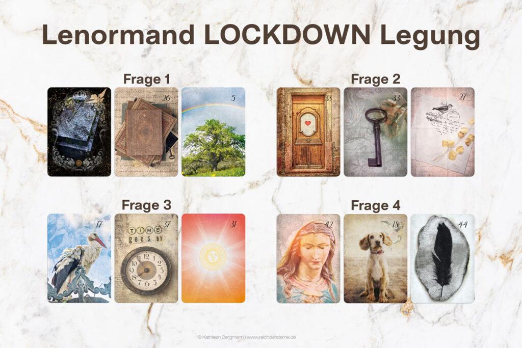 Lenormand Lockdown Legung